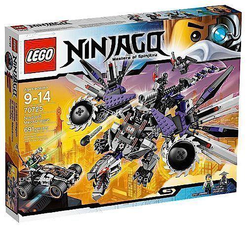 NY I SEALD låda  LEGO 70725 Ninjago Nindroid Mechdrake