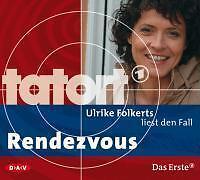 Ulrike-Folkerts-liest-den-Fall-Rendezvous-Audio-CD-von-Gunar-Hochheiden