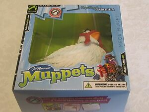 Figurine Action Camilla des Mega Muppets, exclusivité Club des collectionneurs des Palisades