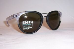 NEW-SMITH-SUNGLASSES-BRIDGETOWN-S-7C5-L7-BLACK-GRAY-GREEN-POLARIZED-CHROMAPOP