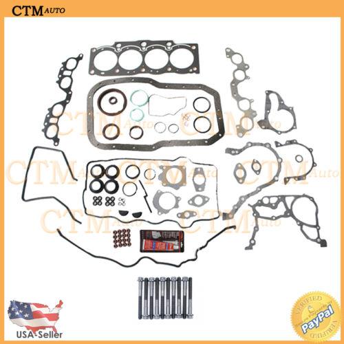Head Gasket Kit Graphite Full Set Bolts Fix For 90-97 Toyota Celica 2.2L I4 5SFE
