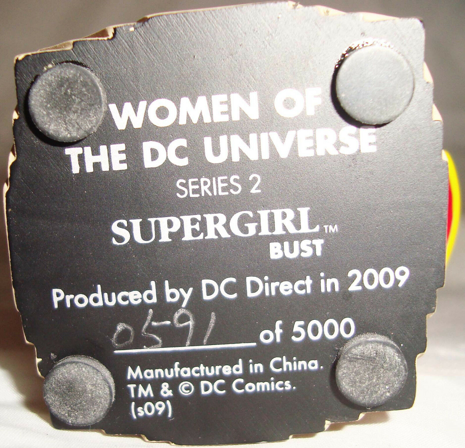 DC COMIC COMIC COMIC WOMEN OF DC UNIVERSE SUPERGIRL BUST NEW (READ AUCTION) ec5815