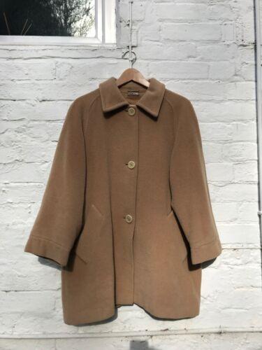 Coat Wool Cashmere Maxmara Camel Uk 12 5IxBwqPBH