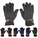 2 Pairs: SubzEros Men's Sport Fleece Lined Gloves