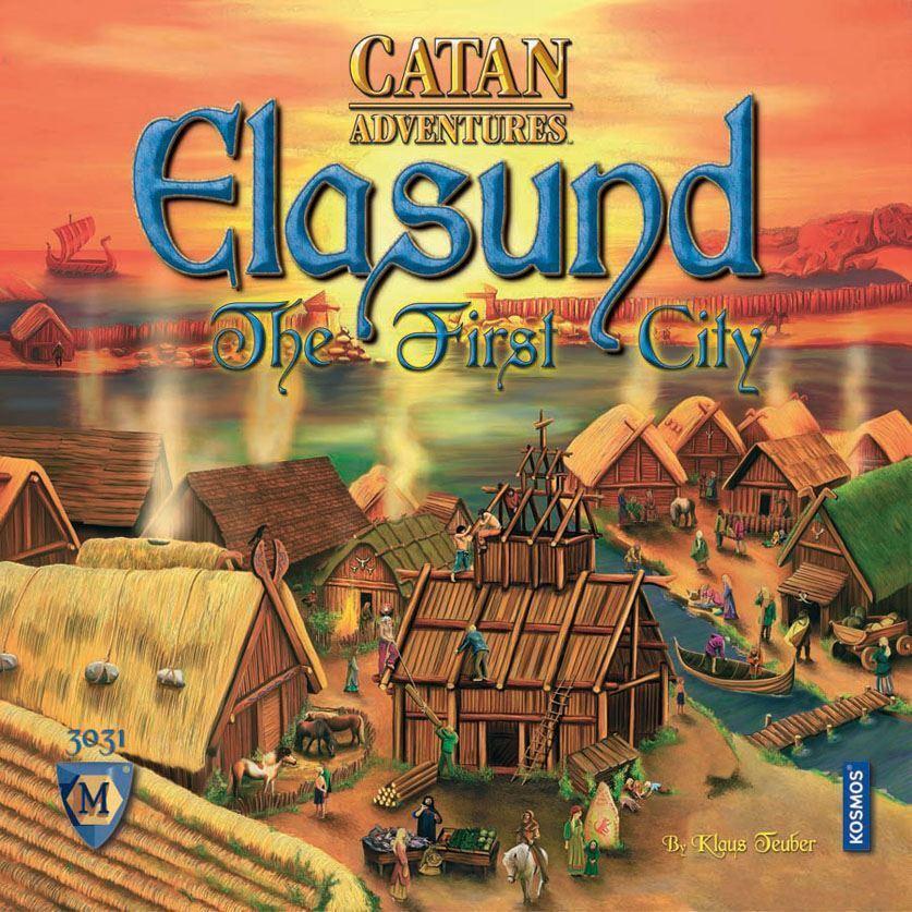 Catan aventures ELASUND la première ville Board Game