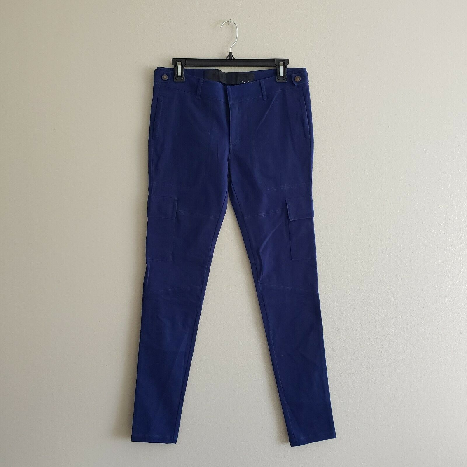 Joes Jeans Womens bluee Leto Skinny Military Jeans Size 27 NWT