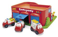 Dantoy Emergencia Divertidos Coches garaje y aparcamiento con 3 vehículos de aprendizaje temprano eyfs