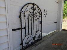 FRENCH CHATEAU IRON SCROLL GARDEN GATE