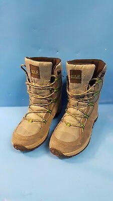 K5) Jack Wolfskin Schuhe Winterschuhe Stiefel grau Gr.39