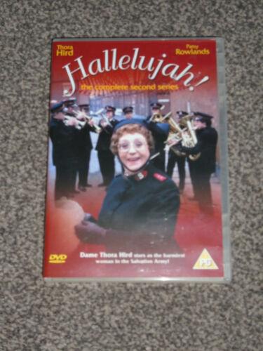 1 of 1 - HALLELUJAH ! : THE COMPLETE SECOND SERIES (2nd) - DVD SET IN VGC (FREE UK P&P)