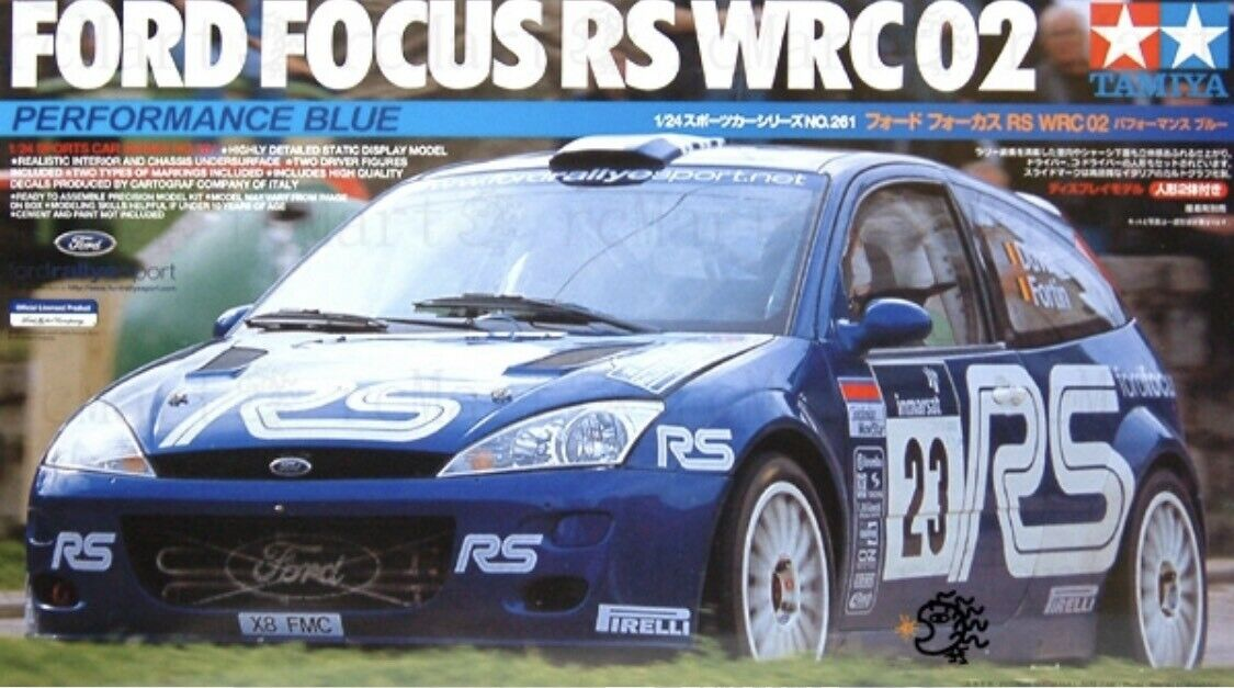 Tamiya 24261 RS - Ford Focus RS 24261 WRC'02 50305d