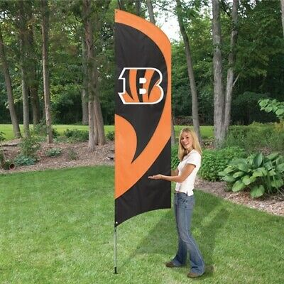 "Bengals Team Fan Flag Cape Banner /""Wear It Wave It Hang It/"" 31.5x47 costume NIP"