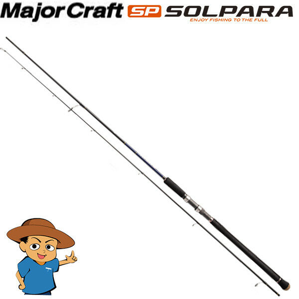 Major Craft SOLPARA SPX-1002LSJ light shore jigging fishing spinning rod 2018