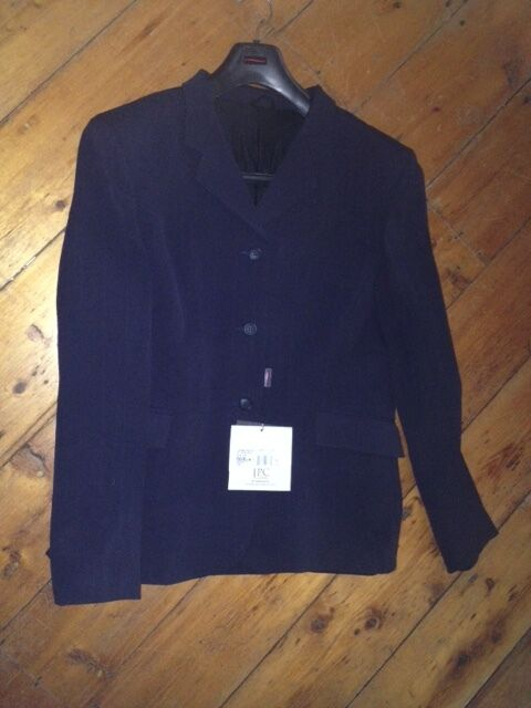 TUFF RIDER  COMPETITION Saratoga Show COAT Ladies 16 NAVY NEW