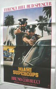 Filmplakat,Plakat,MIAMI SUPERCOPST,TERENCE HILL, BUD SPENCER  '#85