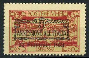 Fiume-1924-Sass-E11-uuz-Nuovo-100-annessione-all-039-Italia