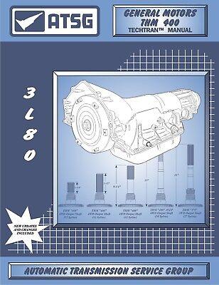 TH400 ATSG Rebuild Manual TH 400 3L80 Transmission Overhaul Service Book THM400 852553006189 EBay