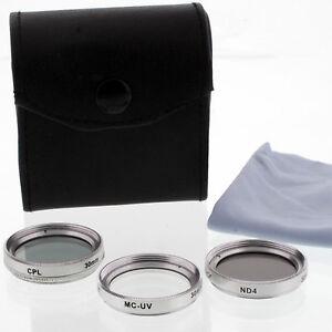Zykkor-CPL-UV-ND4-30mm-Lens-Filter-Kit-for-Sony-DCR-SR45-SR42-camcorders-cameras