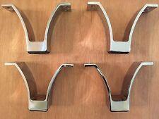 4 Metal Furniture Sofa Leg Cabinet Table Feet Legs
