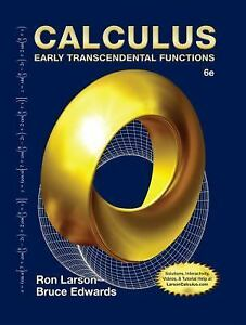 Calculus early transcendental functions by ron larson and bruce h stock photo fandeluxe
