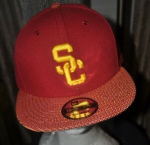 USC NEW ERA RED YELLOW USC Trojans Baseball cap Hat 9fifty SNAPBACK ... 1296fd705ef