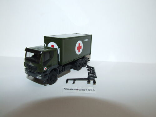 Herpa 746519 military Iveco Trakker 6x6 abrcolkw BW 1:87