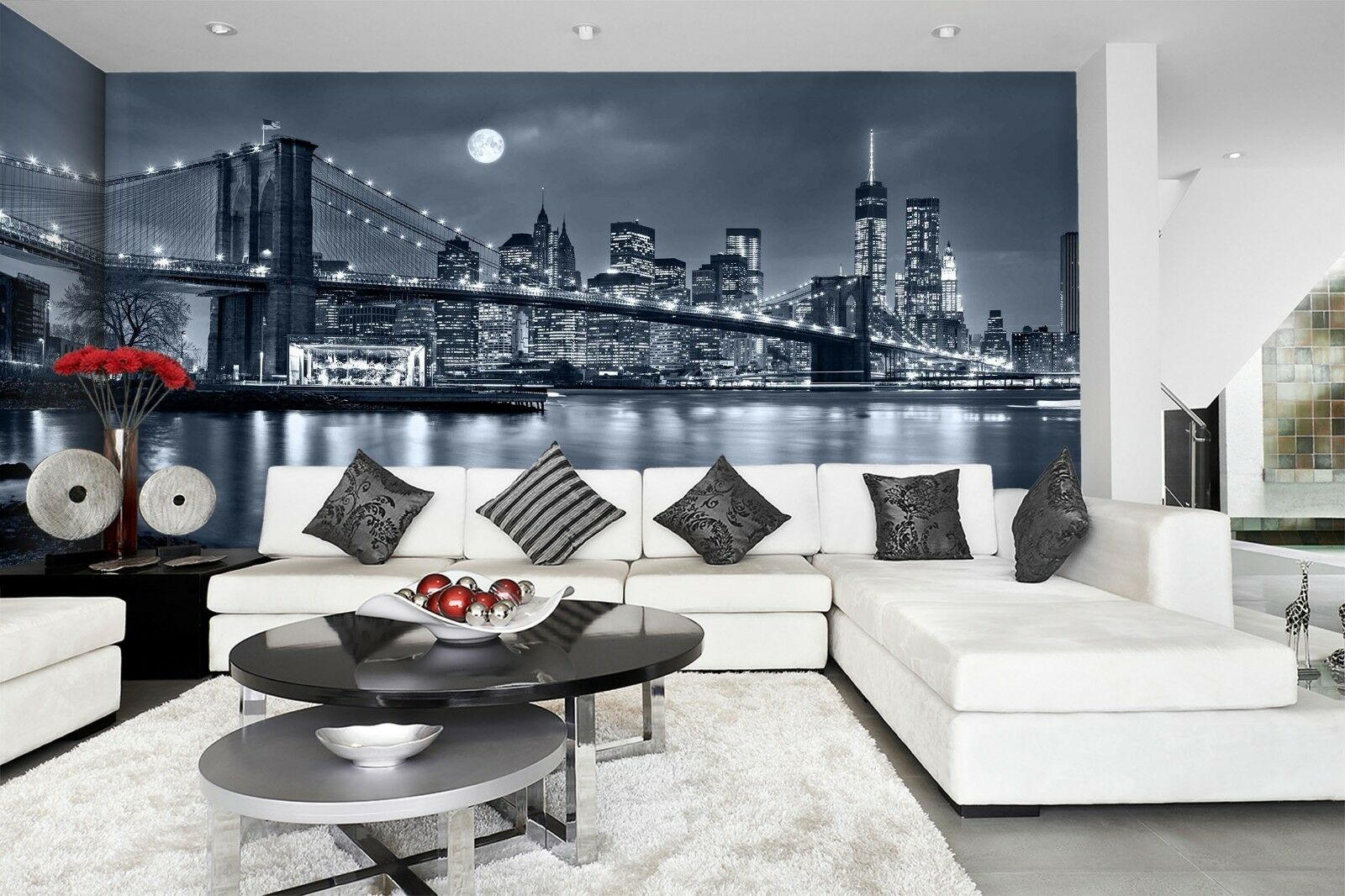 3D Night City 879 Wallpaper Mural Wall Print Wall Wallpaper Murals US Lemon