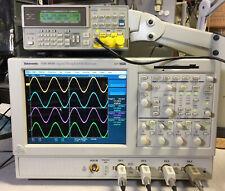Tektronix Tds5034 Dpo Oscilloscope 4ch 350mhz 5gss 2m 2a Sm J2 Usb Pw3 Jt3 J3e