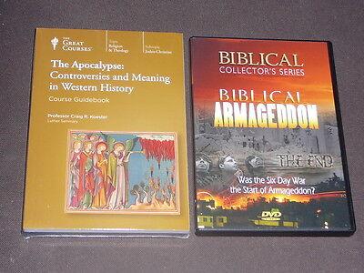 Teaching Co Great Courses DVDs         APOCALYPSE   CONTROVERSIES    new + BONUS