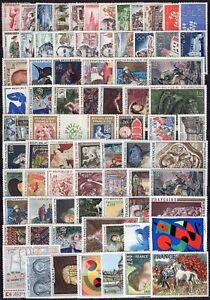 Francia-Lotto-di-76-francobolli-Nuovi-MNH