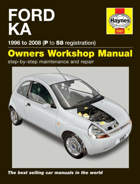 Ford Ka   P To  Haynes Workshop Manual