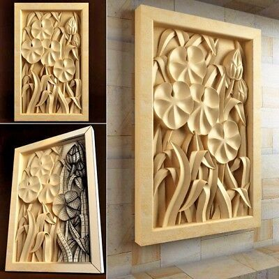 3D Model for CNC Router STL File Artcam Aspire Vcarve Wood Carving.IS342