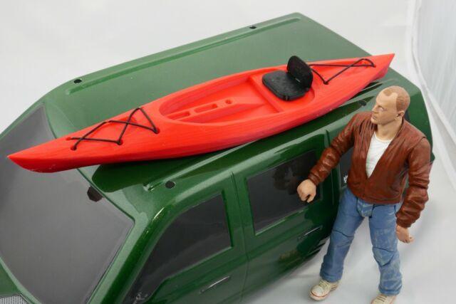 1/10 Scale Accessories SOT Kayak RC  Shop Garage Rock Crawler Doll House