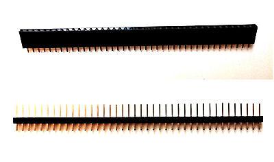 Pinleiste 2,54mm einfach 10 Stück 40-Pin Stiftleiste