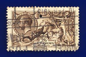 1913-SG400-2s6d-Sepia-Brown-Waterlow-N63-3-Paignton-10-FEB-1915-Cat-150-chdj
