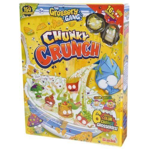 Le Grossery Gang Chunky Crunch céréales Pack 16 grosseries 6 Changement De Couleur