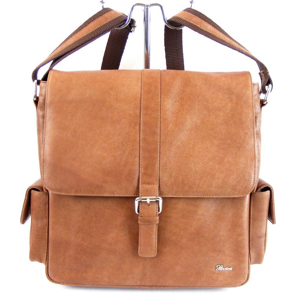 Pavini Damen Tasche Überschlagtasche Dallas Leder cognac 9311 groß Handyfach | Moderne Technologie