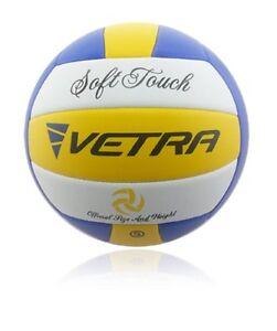 Un-VETRA-Volley-Ball-Toucher-Doux-Volley-Ball-officiel-taille-5-Outdoor-Indoor-Beach