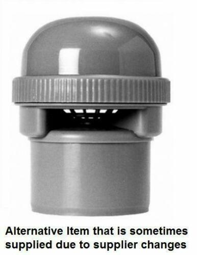 Anti Syphon Valve Prevents WC  /& Trap Suction Grey Air Admittance Valve 50 mm