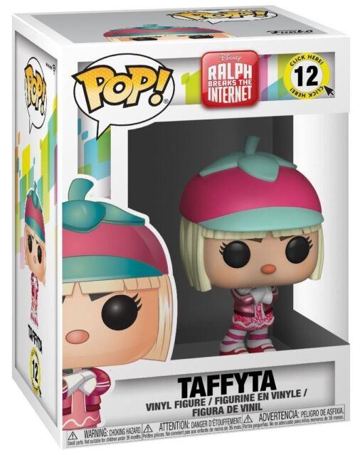 Figura in vinile #12 venditore in base UK DISNEY Ralph Spaccatutto 2-Taffyta FUNKO POP