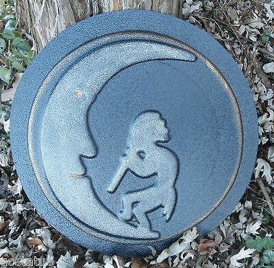 Kokopelli stepping stone mold plaster concrete casting plastic mould