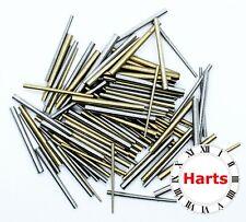 1.15mm STEEL CLOCK TAPER PINS 14mm Long Tapered Diameter 0.75mm Pack of 10