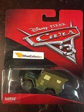 2017 Disney Cars 3 Pixar * Sarge * HF100