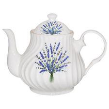 Crown Trent Fine English Bone China 4 Cup Teapot Tea Pot LAVENDER