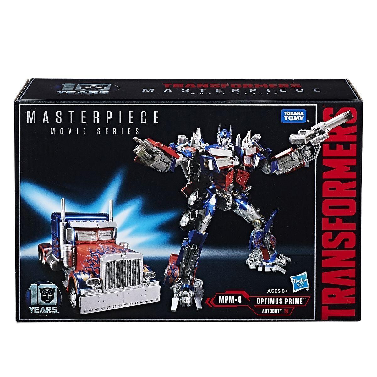 Hasbro Takara TransFormers Movie Masterpiece MPM-4 MPM-04 Optimus Prime NEW MISB