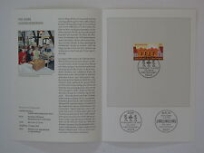 (09j31) Bund Erinnerungsblatt 2009 mit ESST Mi.Nr. 2753 Jugendherbergen
