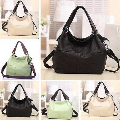 Women's Fashion PU Leather Satchel Handbag Shoulder Crossbody Bag Tote Messenger