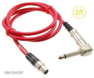 2ft XLR 4-Pin Female to XLR 4-Pin Male Shielded Extension Patch Cable