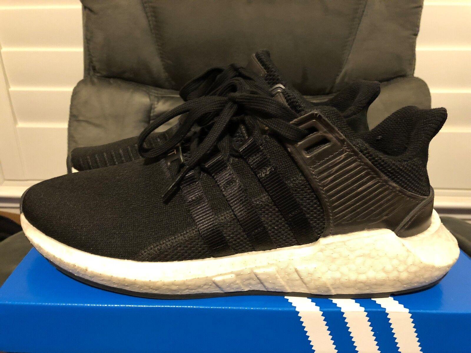 Adidas eqt sostegno 93 / nero 17 macinati di pelle nero / taglia 10 bb1236 80c7e9