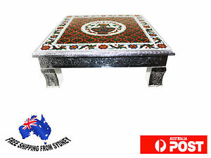 Bajot-Puja-Chowki-Meenakari-Pedestal-home-or-temple-decor-Handmade-Pooja-Table